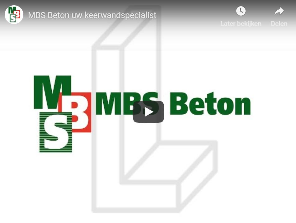 Impressiefilm MBS Beton