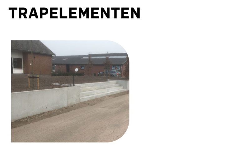Trapelementen MBS Beton